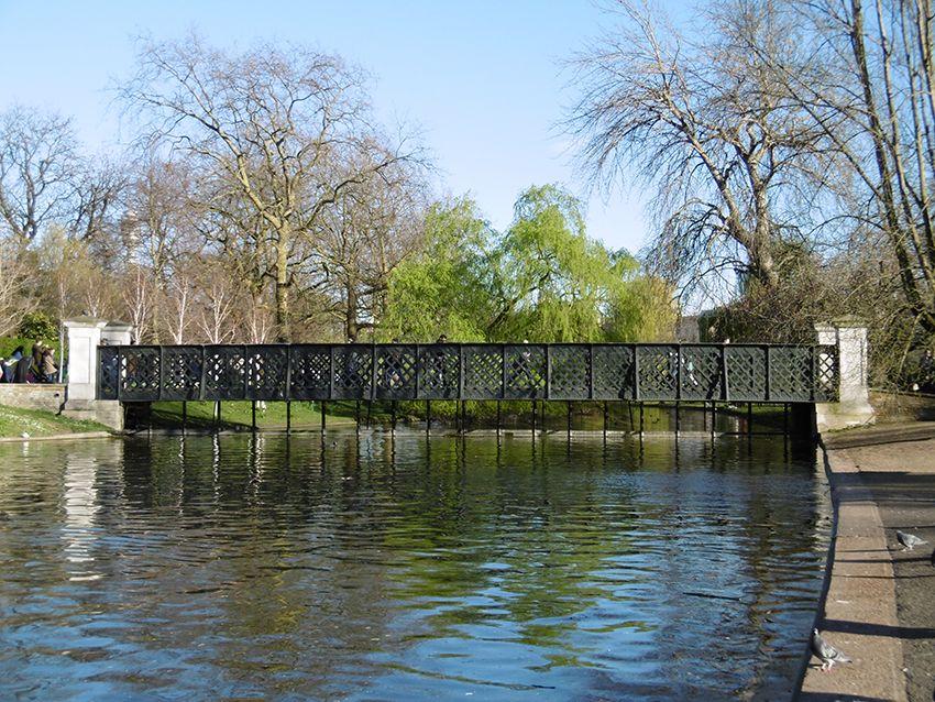 Pont de Regent's Park à Londres.