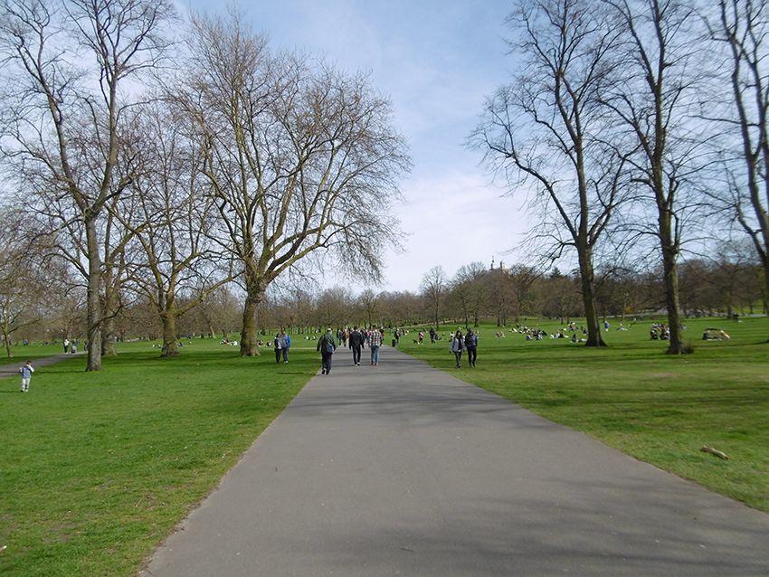 Parc de l'observatoire de Greenwich.