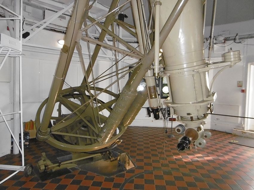 Télescope de l'observatoire de Greenwich.