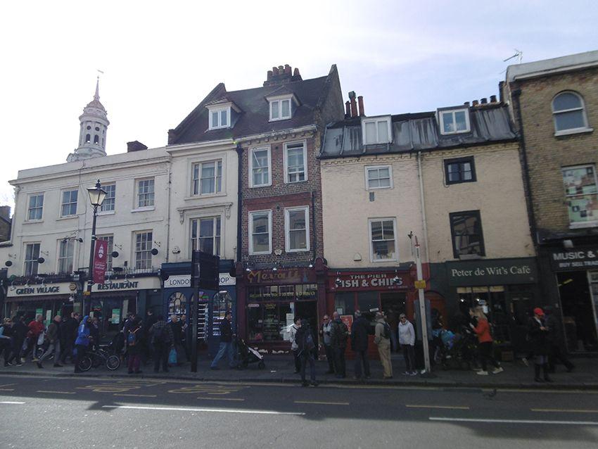 Rue de Greenwich.