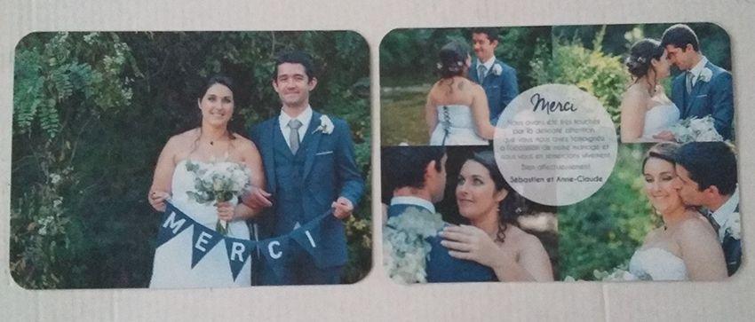 Papeterie de mariage : nos cartes de remerciements.