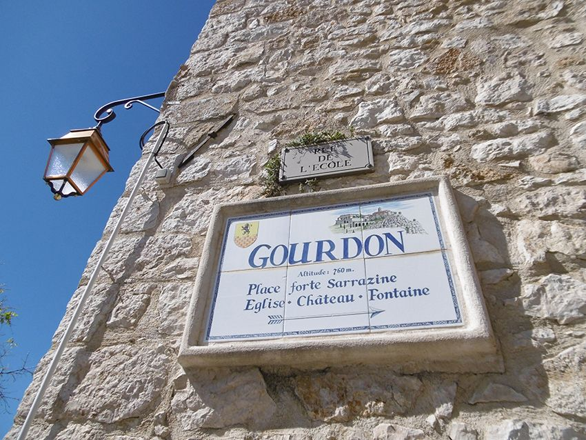 Village de Gourdon.