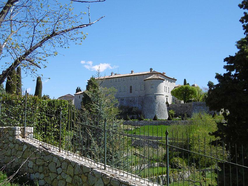 Château de Gourdon.