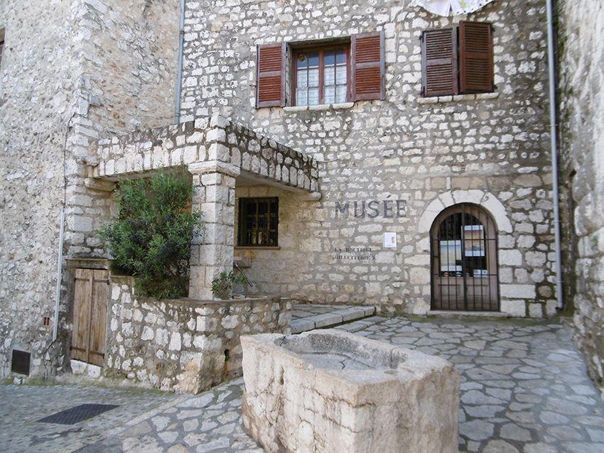 Musée d'Histoire Locale à Saint-Paul de Vence.