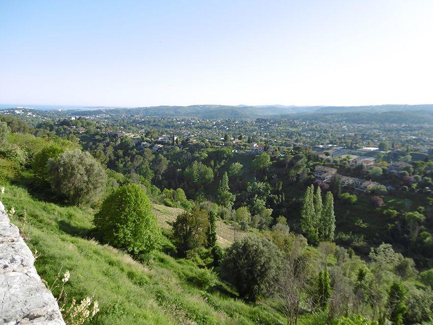 Panorama depuis Saint-Paul de Vence.