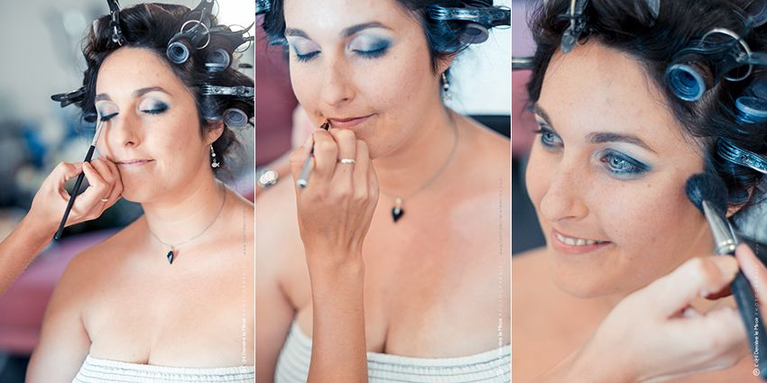 Sabine beauté maquillage de mariée.