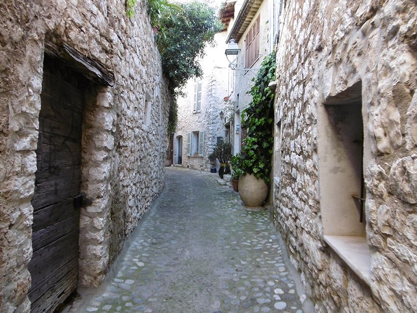 Ruelle du village de Saint-Paul de Vence.