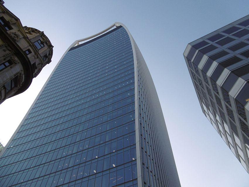 Le building Sky Garden à Londres.