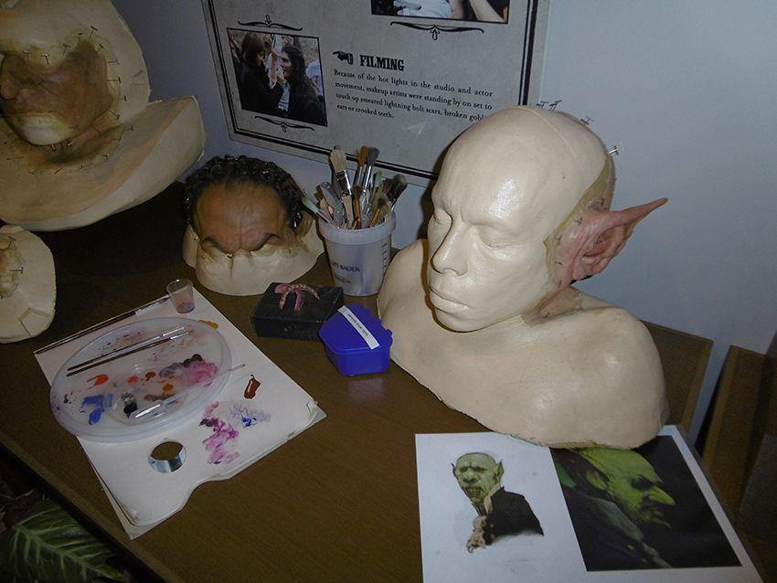 Atelier effets spéciaux au Studio Harry Potter de Londres.