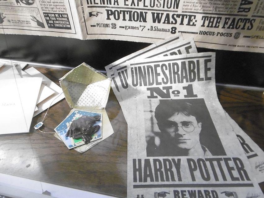 Un choco grenouille au Studio Harry Potter de Londres.
