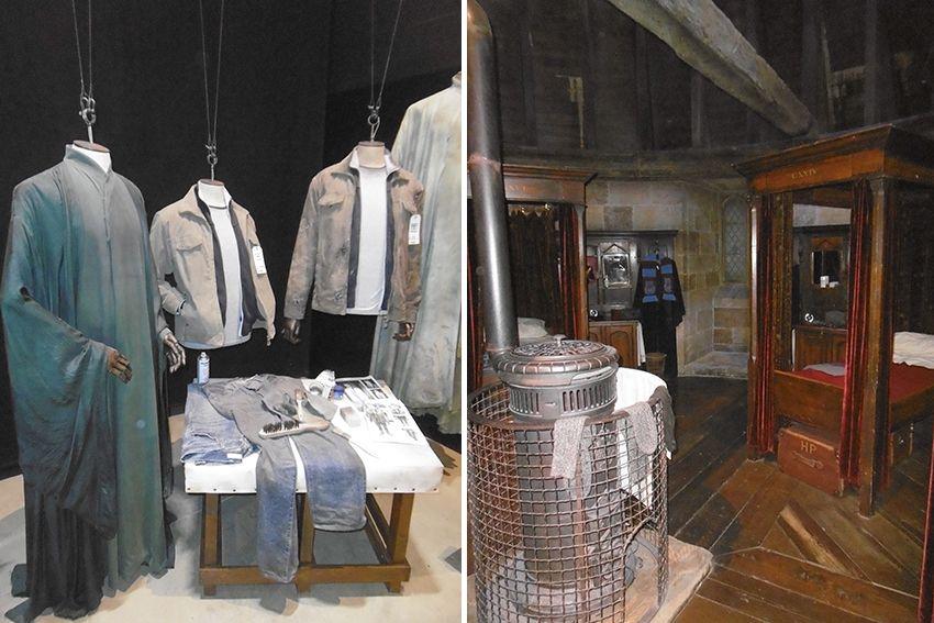 Costumes au Studio Harry Potter de Londres.