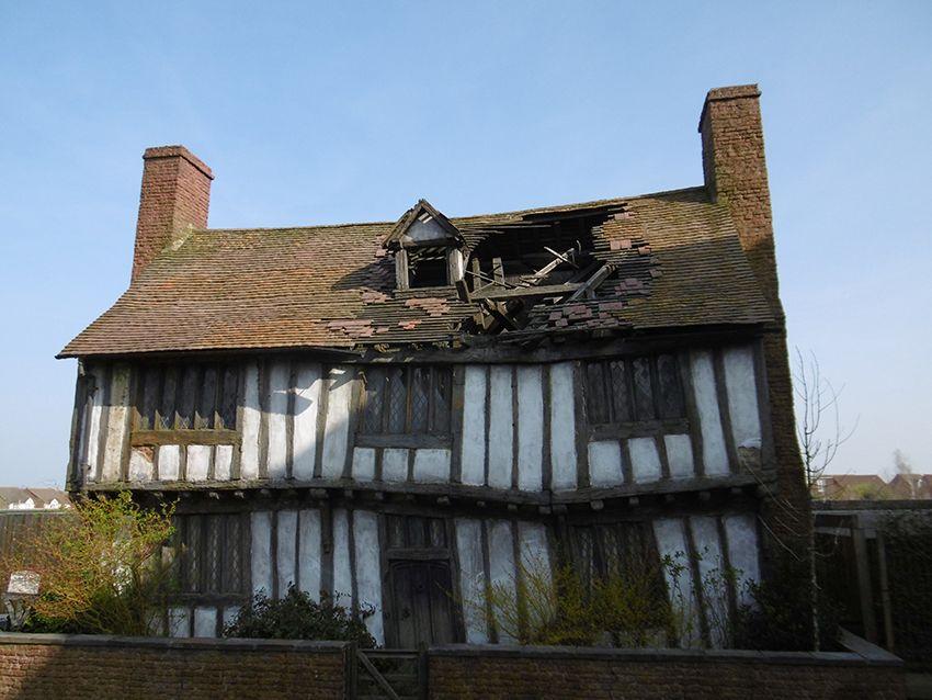 Potter's cottage au Studio Harry Potter de Londres.