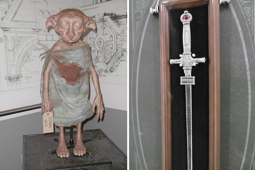 Dobby au Studio Harry Potter de Londres.