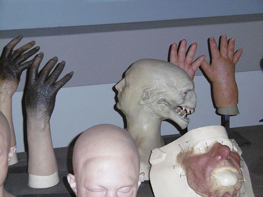 Masques et effets spéciaux au Studio Harry Potter de Londres.