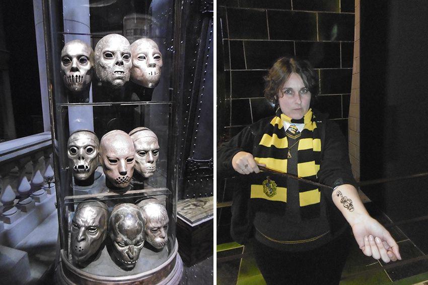 Mangemorts au Studio Harry Potter de Londres.