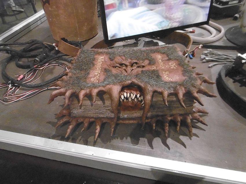 Montrueux livre des monstres au Studio Harry Potter de Londres.