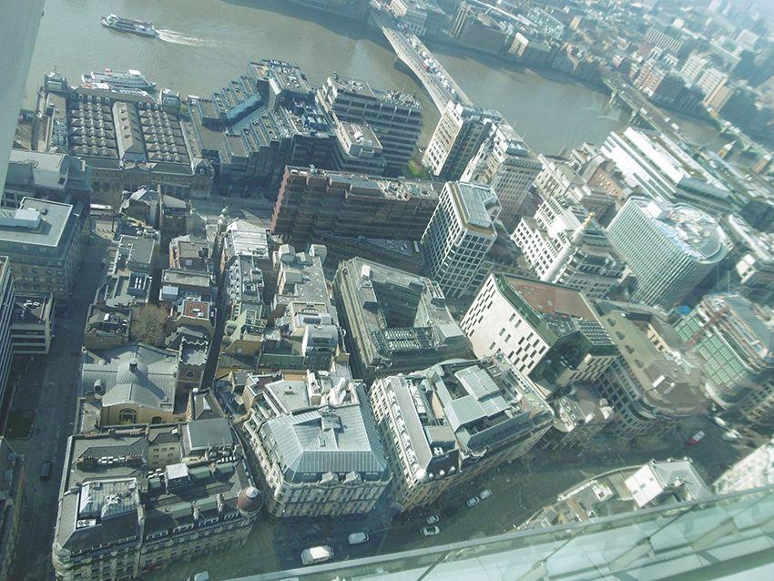 Vue sur les toits de Londres depuis le Sky Garden.