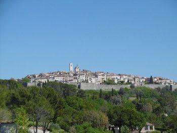 Village de Saint-Paul de Vence.