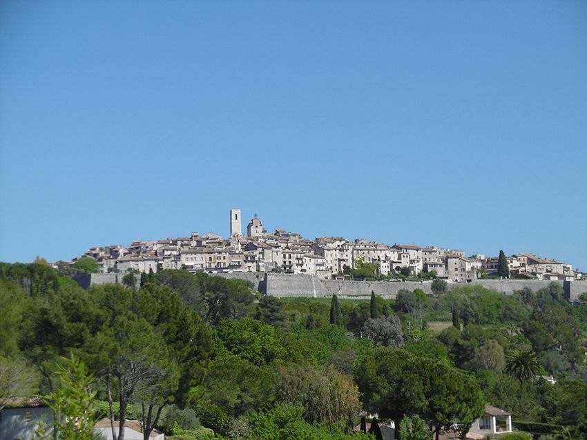 Village de Saint-Paul de Vence.