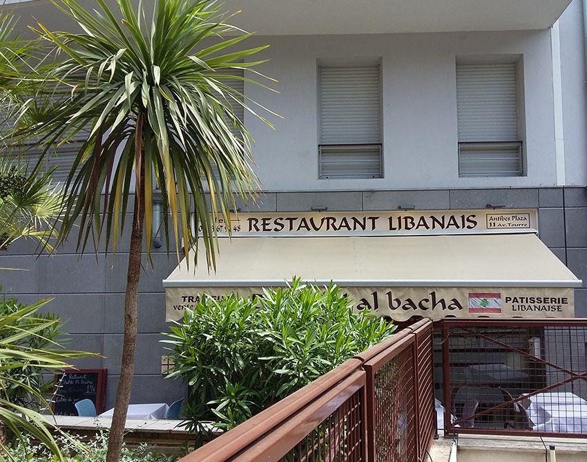 Diwan Albacha restaurant libanais à Antibes.