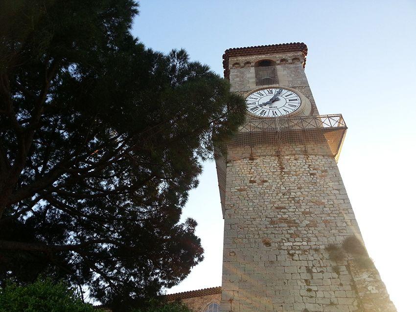 Horloge du Suquet au musée de la Castre, à Cannes.