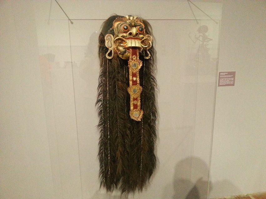 Exposition ethnologie au musée de la Castre à Cannes.