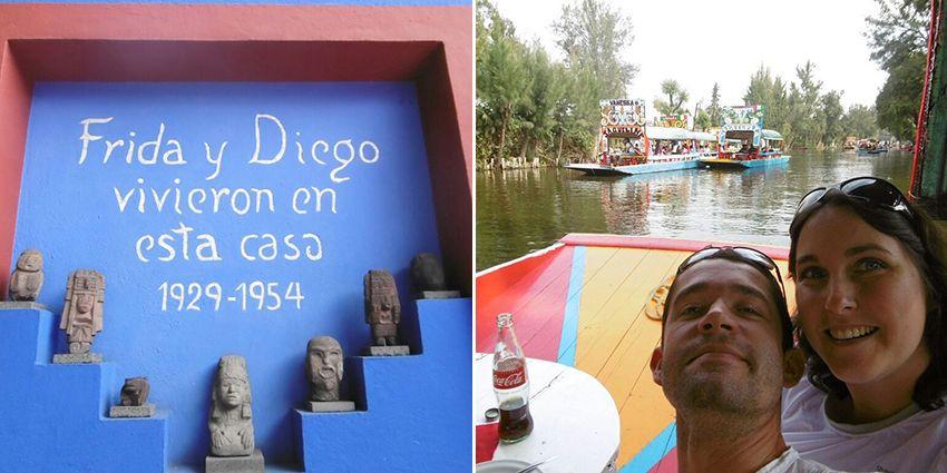 Tranche de bonheur de notre voyage de noces au Mexique.