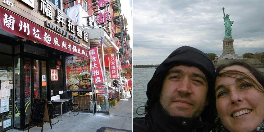 Tranche de bonheur voyage de noces à New-York !