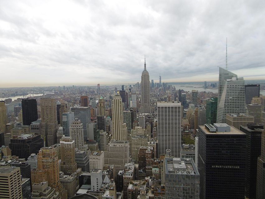 New-York vue depuis le Top of the Rock.
