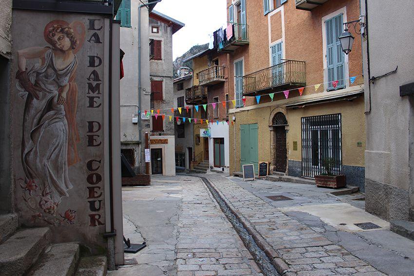 Village de Saint-Martin-Vésubie.