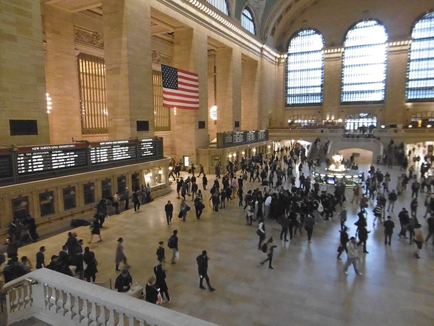 Gare Grand Central Terminal New-York.