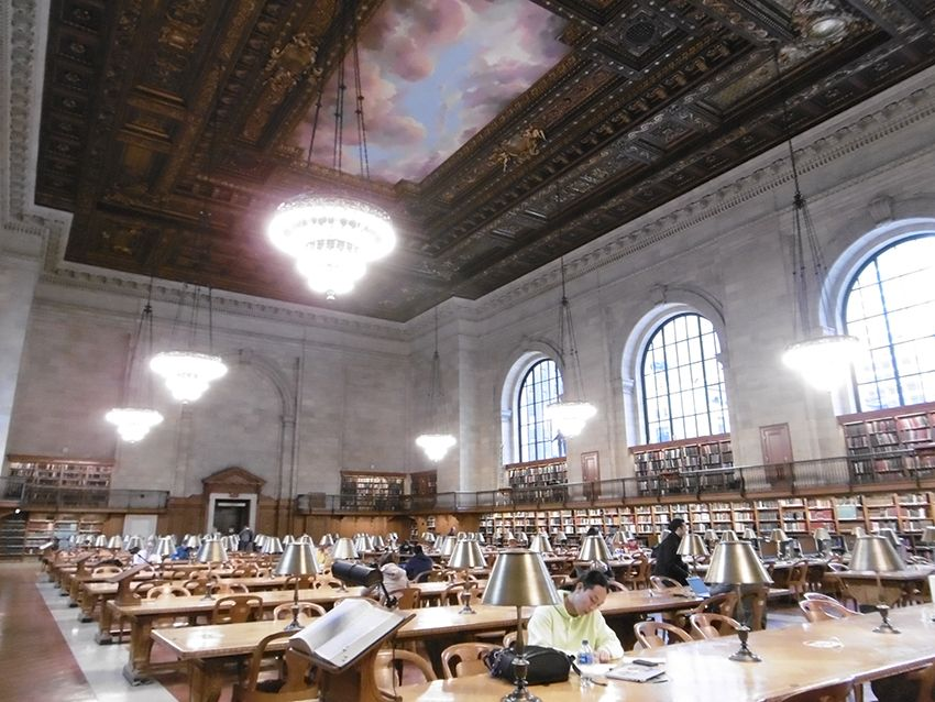 Bibliothèque New-York Public library.