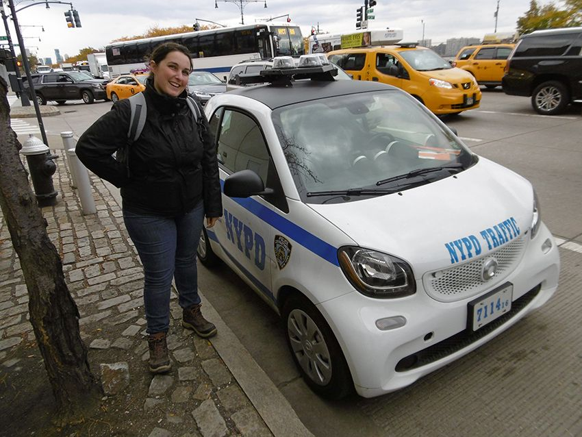 Smart NYPD à New-York