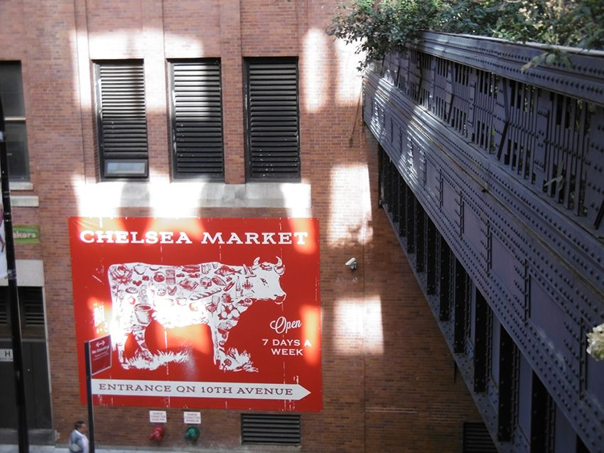 Chelsea Market à New-York.
