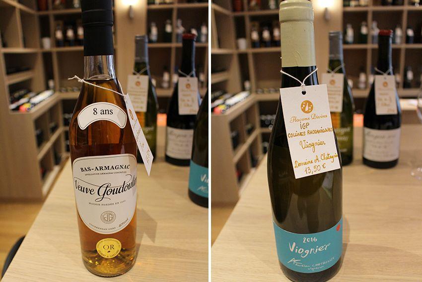 Vin Armagnac personnalisable chez Flacons Divins à Antibes.
