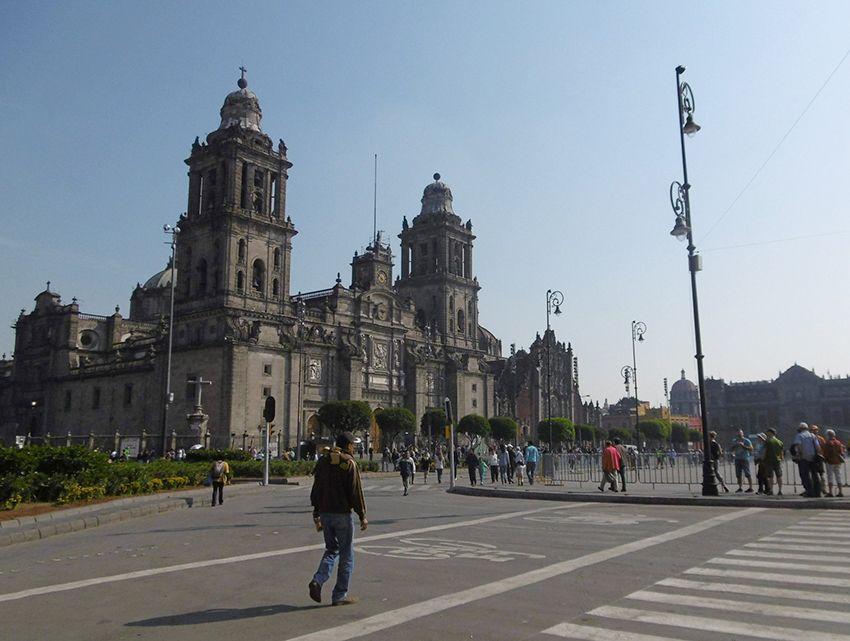 Cathédrale de Mexico.