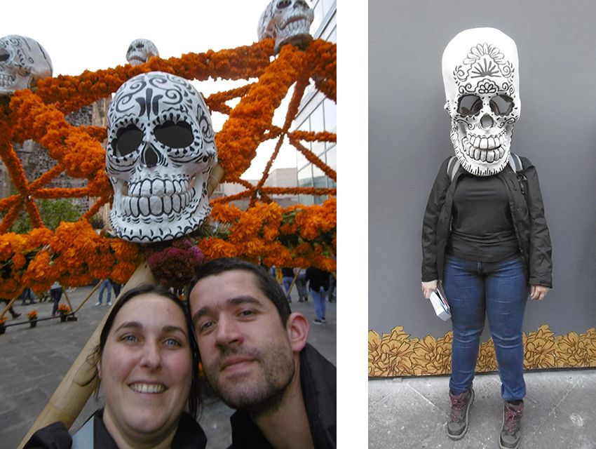 Dia de muertos à Mexico