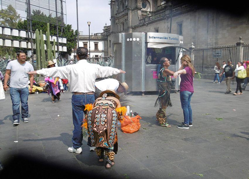 Limpia à Mexico.