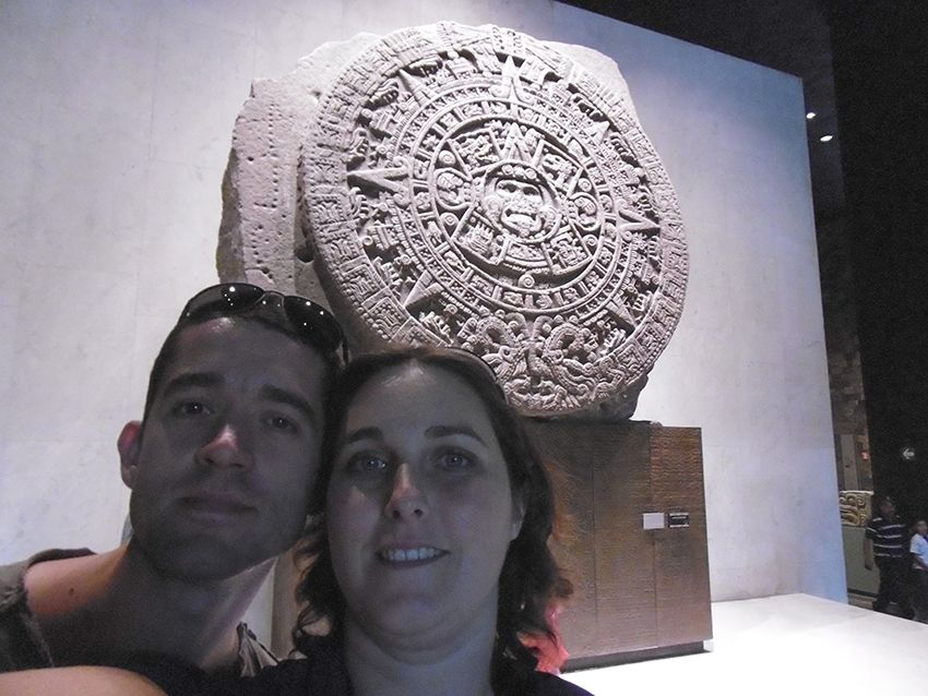 Calendrier Maya du Musée Anthropologique de Mexico.