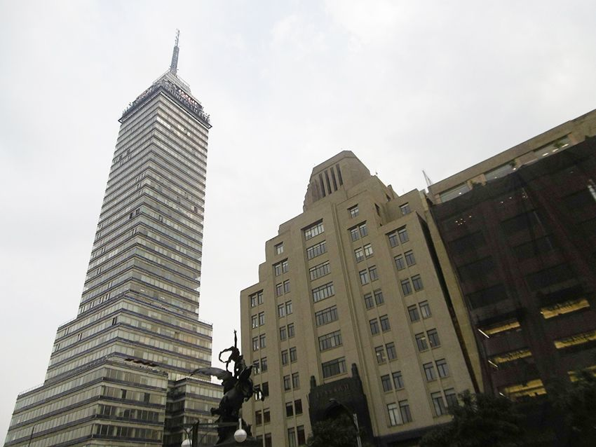 Torre latinoamericana de Mexico.