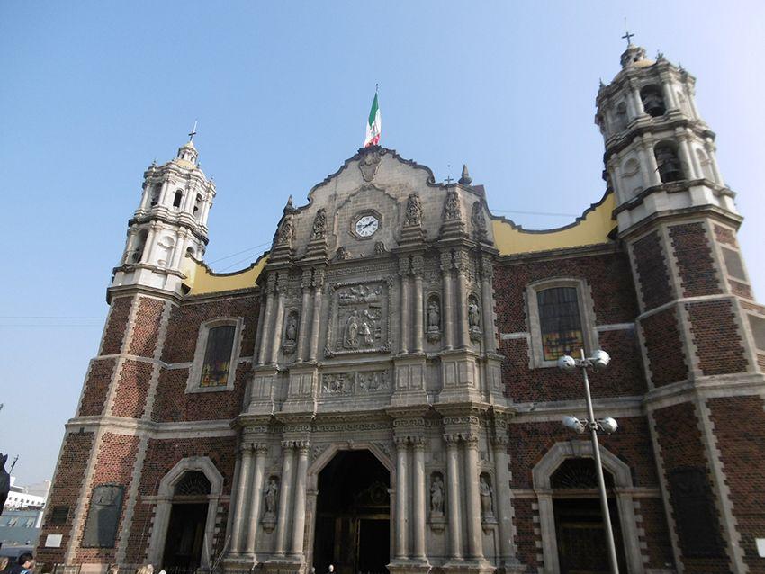 Notre Dame de Guadalupe ancienne église.