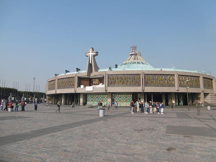 Notre Dame de Guadalupe l'église moderne.