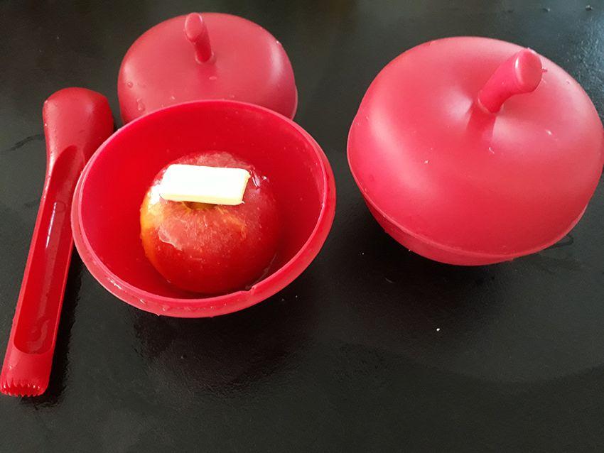 Préparation des pommes au four, une recette d'Automne.