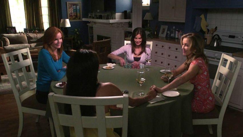 Capture d'écran de la série Desperate Housewives.