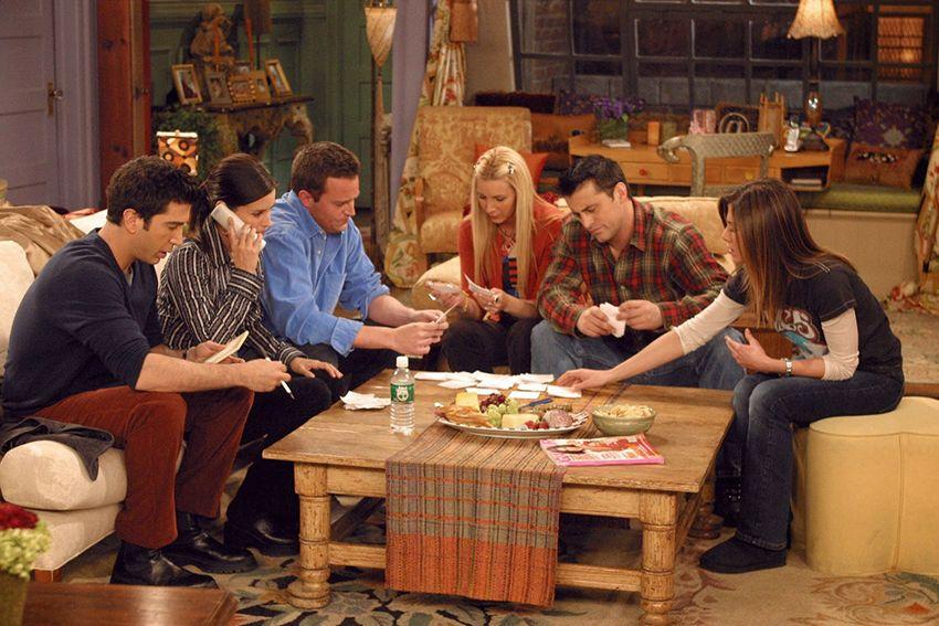 Capture d'écran de la série Friends.