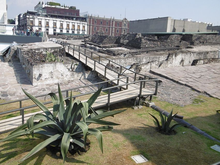 Templo mayor à Mexico