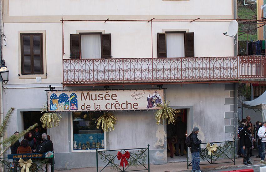 Musée de la crèche à Lucéram.