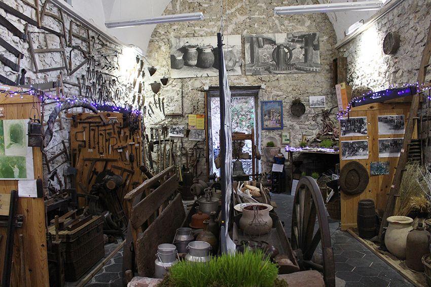 Musée des vieux outils à Lucéram.