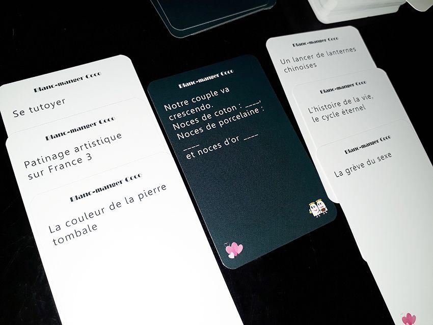 Blanc manger coco : un jeu de cartes amusant.