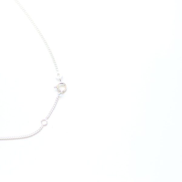 Chaine collier en Argent 925 réglable.